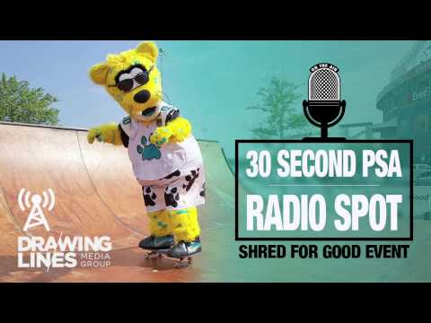 creative agency Jacksonville - radio PSA for Shred for Good