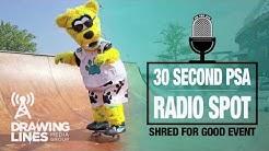 creative agency Jacksonville - radio PSA for Shred for Good