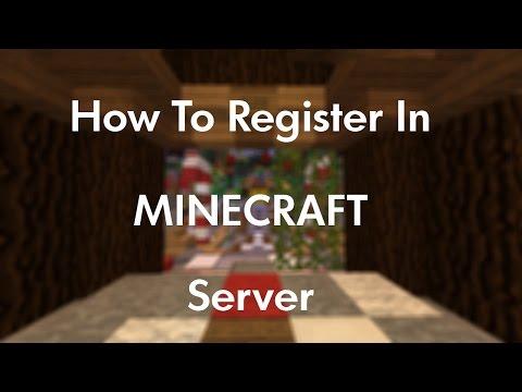 How To Register In Minecraft Server (Work On Minecraft 1.8 - 1.16 )