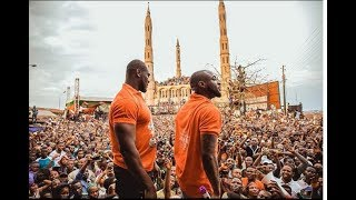 Davido & Chioma storms Ilesha to Campaign for his uncle as he sings Assurance, See crowds go gaga.
