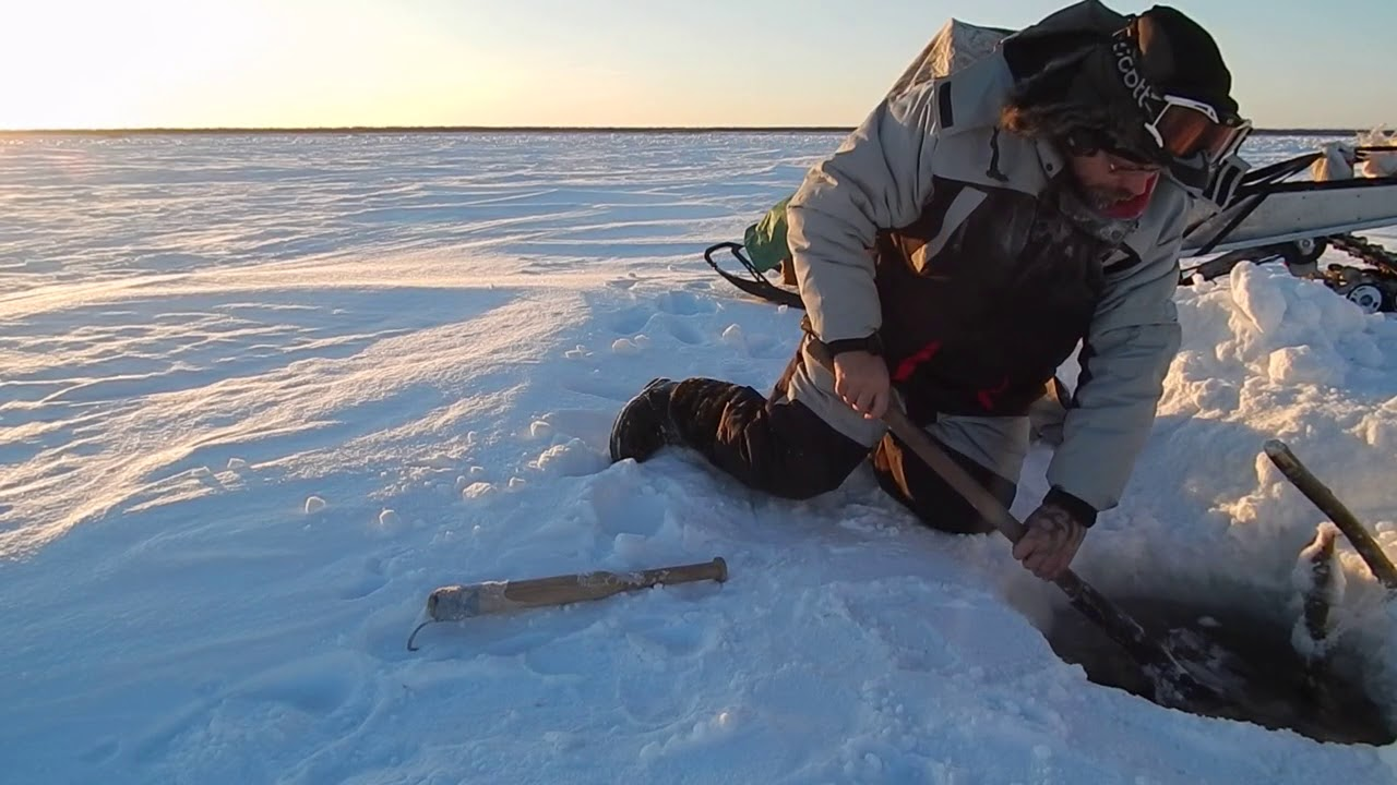 Рыбалка на севере и секс