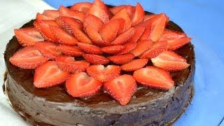 Healthy Flourless Chocolate Cake (vegan) | Fablunch