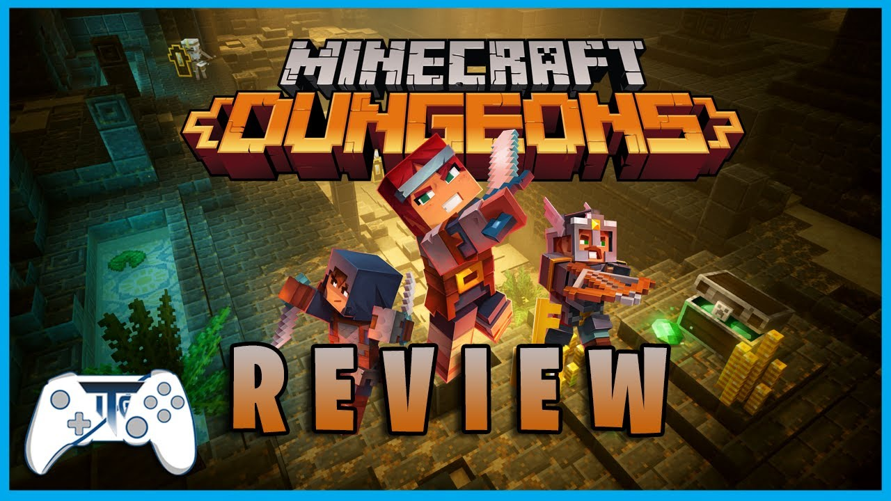 Minecraft Dungeons Review - LOOT! (Video Game Video Review)