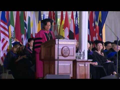 LIVE: Hillary Clinton keynotes Wellesley College Commencement