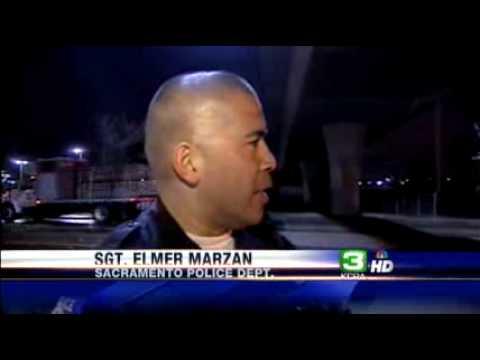 Car Hits Freight Train In South Sacramento
