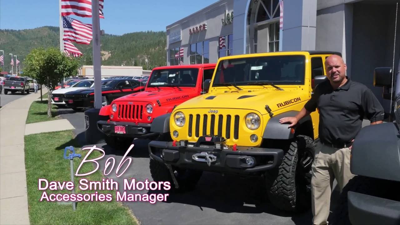 Custom jeep wranglers at dave smith motors youtube for Dave smith motors used