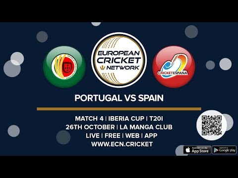 Iberia Cup, Match 4  - Portugal vs Spain - T20I Cricket