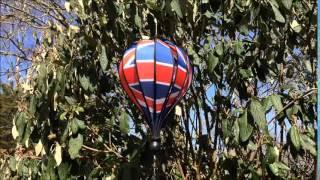 United Kingdom Balloon Wind Spinner