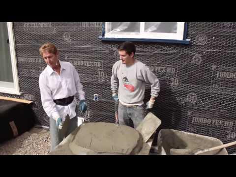 Teaching beginners guide to rendering & plastering tips