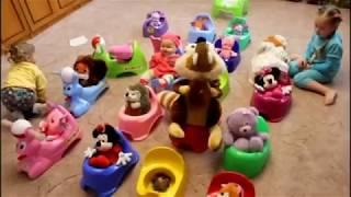 Все на горшок Обучающее видео для детей Я - Каролина Как приучить ребенка к горшку?