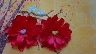 Valentine Red Flower Tutorial