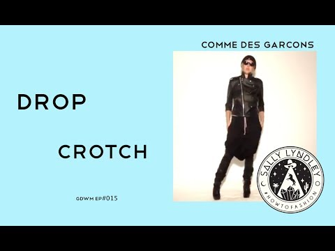 5 Ways to Style Drop Crotch Trousers with Comme Des Garcons: Get Dressed With Me!