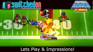 Best football game on Switch?! - Football Heroes Turbo (Nintendo Switch)
