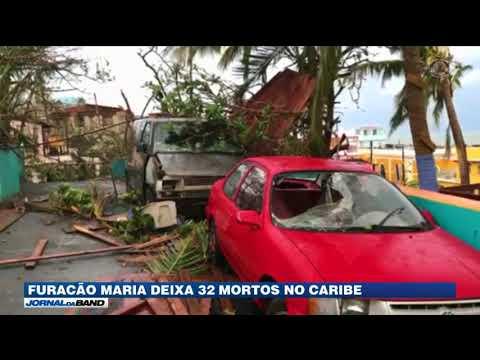 Furacão Maria Deixa 32 Mortos No Caribe