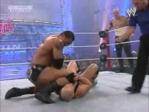 Batista & Kane vs Finlay & The Great Khali WWE Saturday Night's Main Event  2007