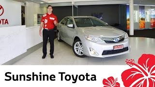 2014 Toyota Camry HL - Video review by Sunshine Toyota