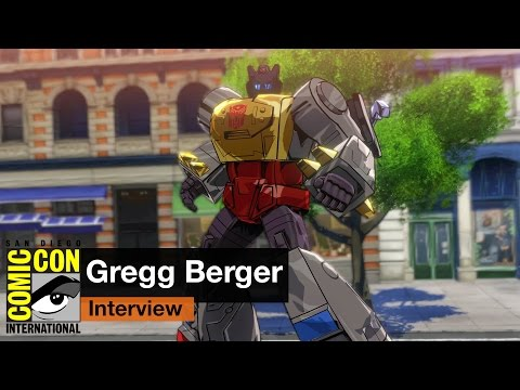 San Diego Comic Con 2015: Roll out with the voice of Grimlock, Gregg Berger