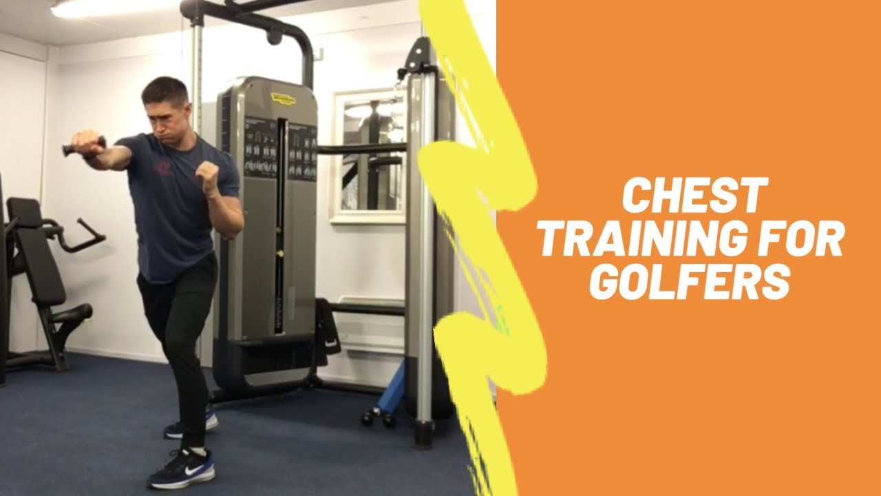 Chest Training for Golfers (strength, stability & power)