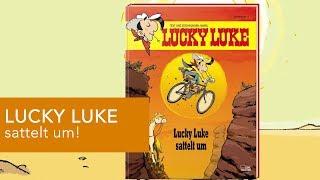 DER COMICtalk über LUCKY LUKE SATTELT UM