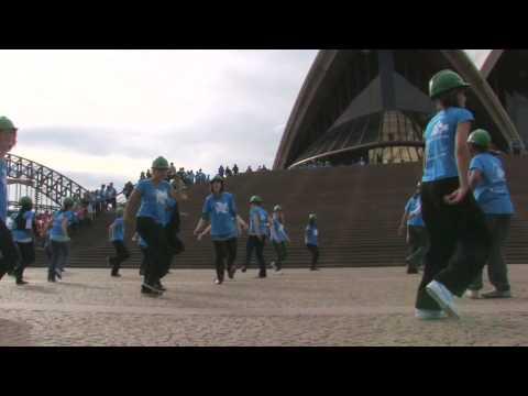 Power Shift Sydney Flash Mob Dance