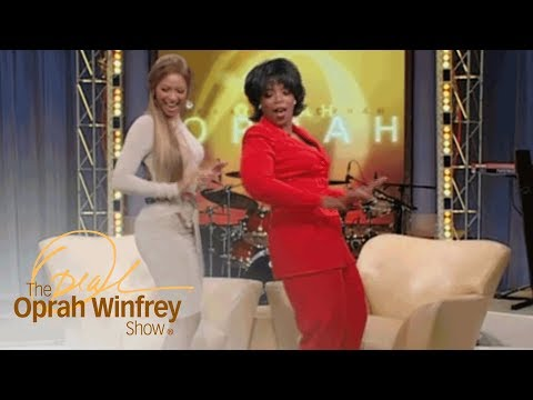 "Beyoncé Shows Oprah How to Dance ""Bootylicious"" Style 