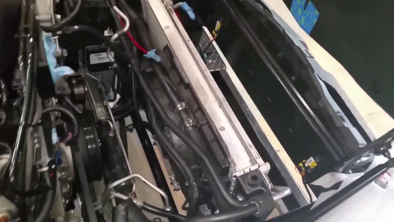 small resolution of how to remove radiator fan from ls c6 corvette procharged c6 c5 corvette parts diagram radiator removal