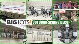BIG LOTS OUTDOOR SPRING DECOR SHOP WITH ME 2021 GARDEN DECOR