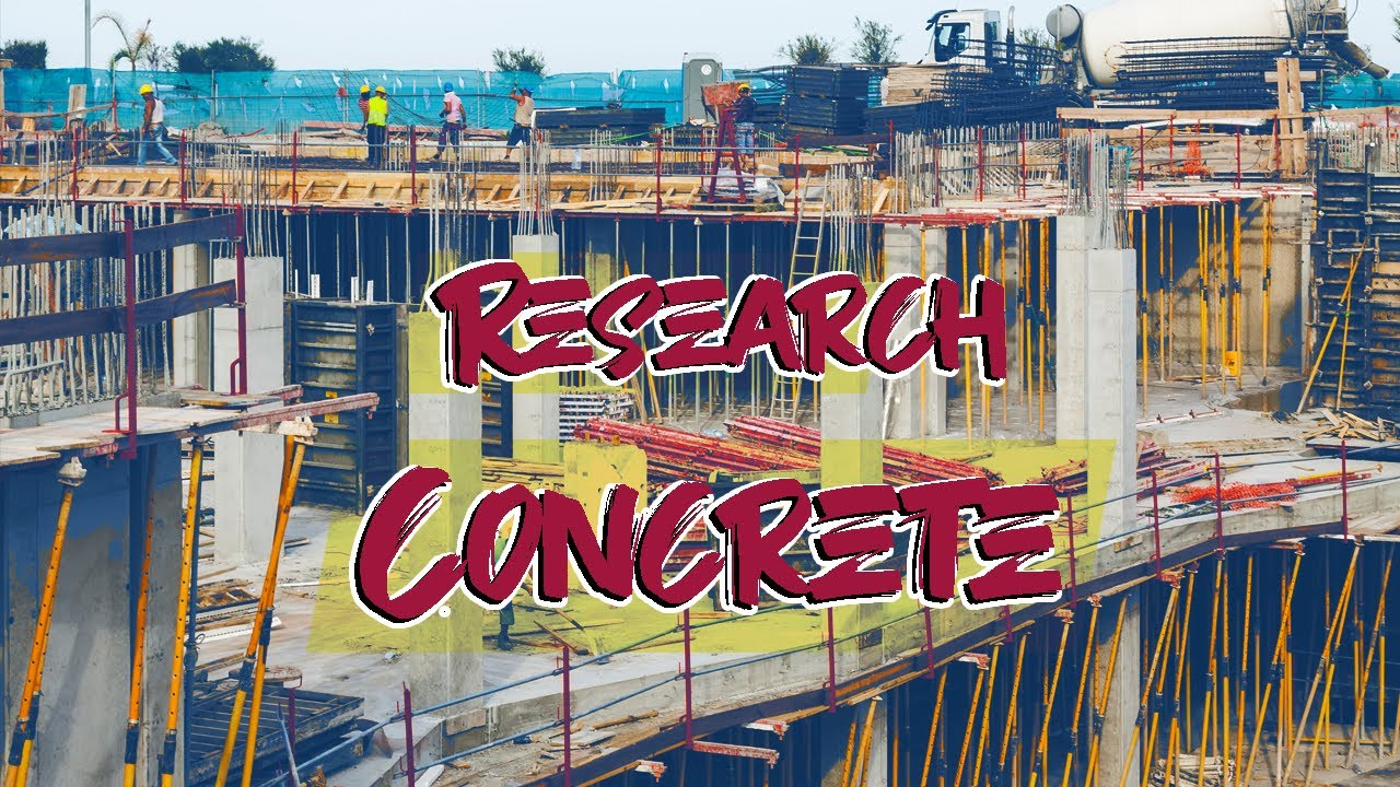 Concrete Research - Portal Frame