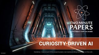 Curiosity-Driven AI: How Effective Is It? | Two Minute Papers #257