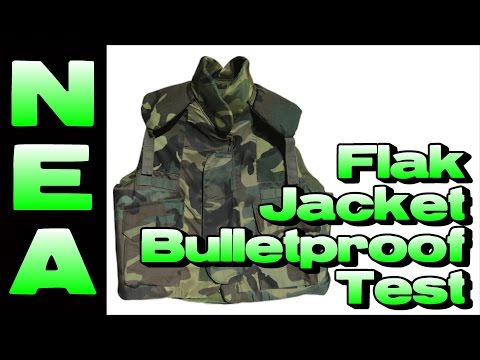 Flak Jacket Bulletproof Test - Budget Defensive Armor?