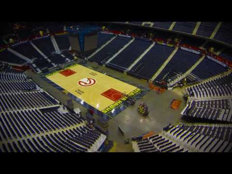 Awesome Time Lapse Shows Three Events In Three Days at Philips Arena