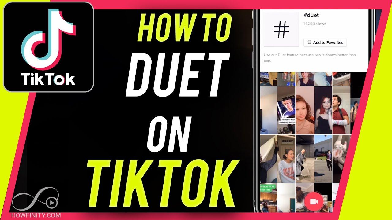 How To Duet On Tiktok Youtube