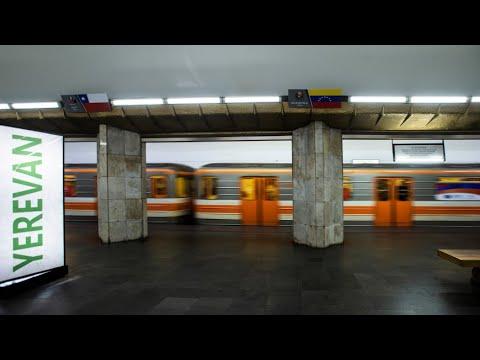 Ереванскому метро исполнилось 40 лет