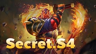 [Dota2] Team Secret s4 Pro Ember Spirit Mid Rank MMR Game( S4 Gameplay )
