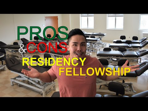 Pros & Cons of Residency and Fellowship for Physical Therapy School