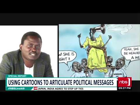Special Report: Using Cartoons To Articulate Political Messages