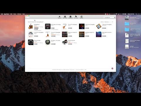 How to Download GarageBand onto Your Macbook or Apple Computer