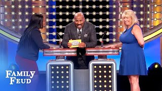 They get the #1 ANSWER. Then THIS happens... | Family Feud