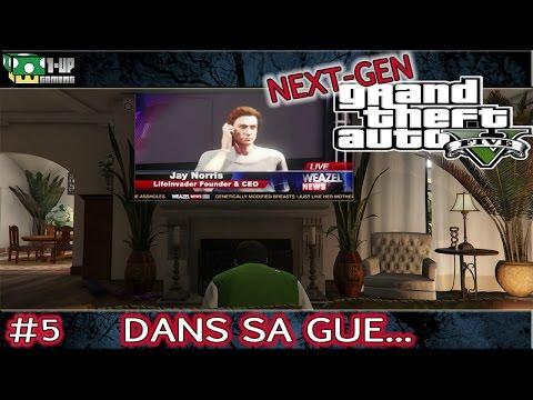 GTA V [Next-Gen] - 5. Demande D'Ami + Tennis | Let's Play {PS4 / Xbox One} Gameplay FR