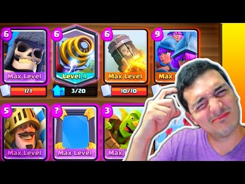 THIS 5.0 DECK BEAT ME? Super Weird Clash Royale Deck!