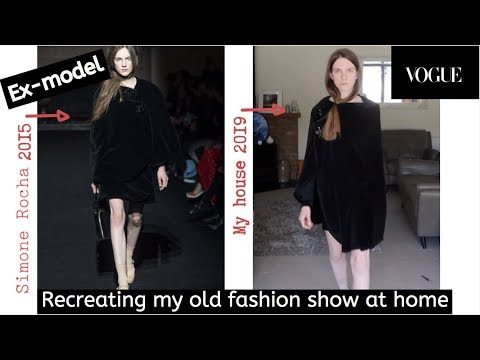 Ex-model recreates her old fashion week show thumbnail