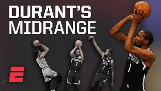 Kevin Durant's midrange game makes him an unstoppable force | Signature Shots
