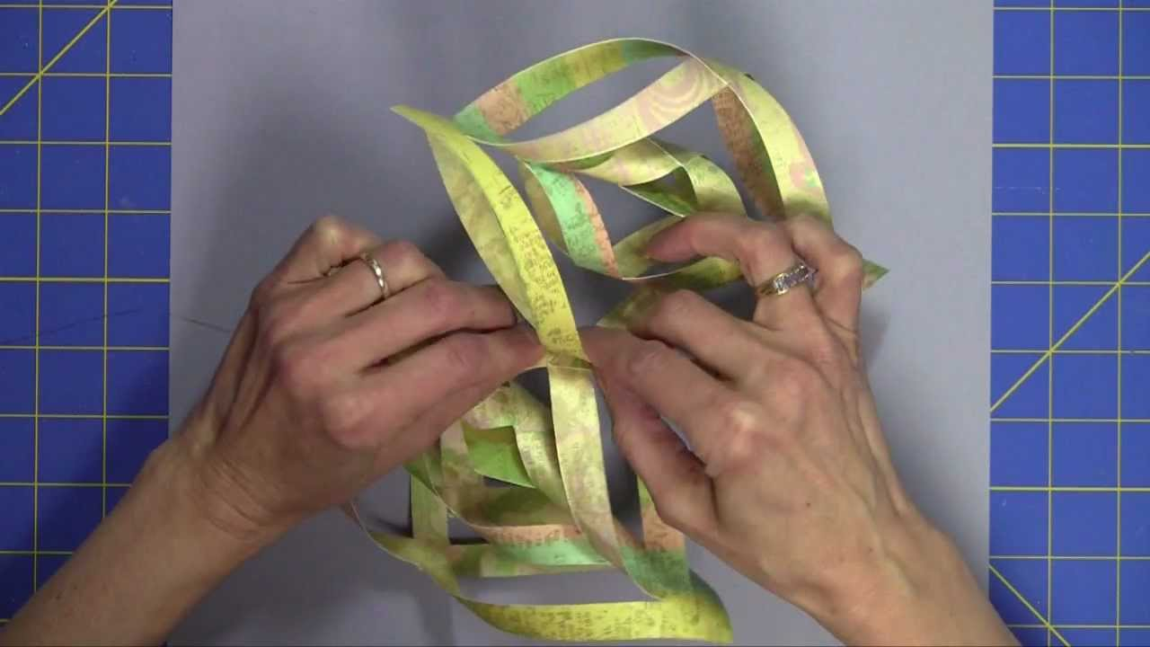 Martha Stewarts Ornament Template - YouTube