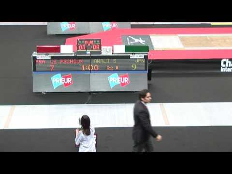 20100129 mf gp paris 64 blue LE PECHOUX Erwan FRA 13 vs AWAJI Suguru JPN 14 sd Yes