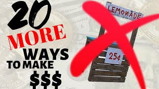 Easy Ways To Make Money as a Kid or Teen [in 2019] - Part 2