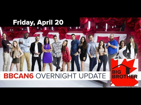 Big Brother Canada 6 | April 20, 2018 | Overnight Update Podcast