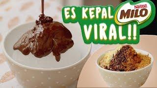 cara membuat es kepal milo viral resepi ais kepal milo
