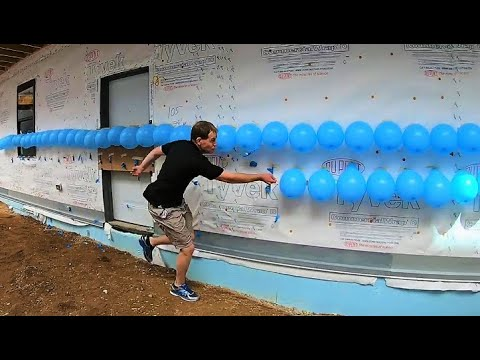 A.D. - And now...A New Guinness Record for... Popping Balloons?!