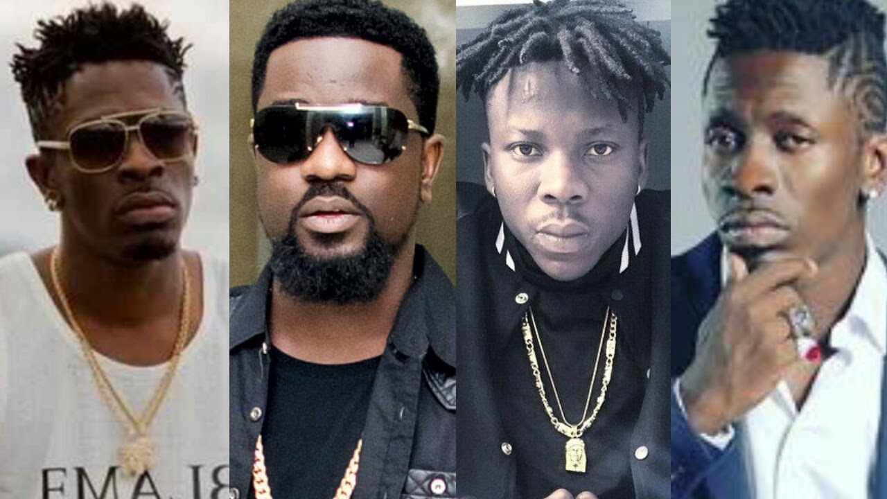 Image result for sarkodie, shatta wale and stonebwoy