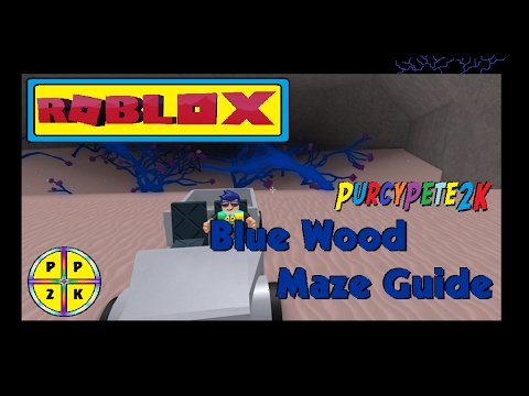 Blue Wood Maze Guide 4th Feb Lumber Tycoon 2 ROBLOX